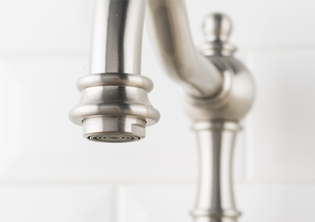 Hahn Victorian Single Lever Classic Kitchen Faucet Stainless ...